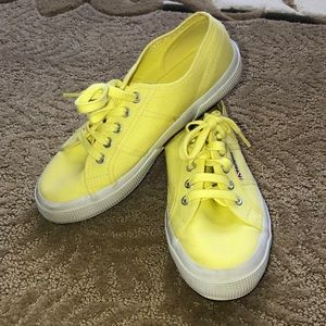 Shoes - Yellow Superga size 8